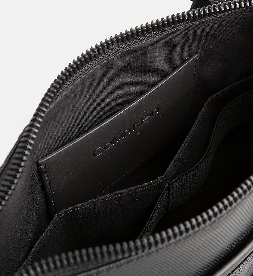 CALVINKLEIN Coated Canvas Flat Cross Body Bag - NIGHTSCAPE - CALVIN KLEIN MEN - detail image 2
