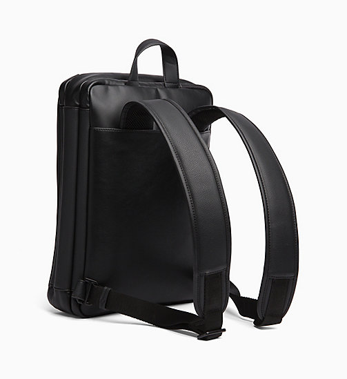 CALVIN KLEIN Convertible Backpack - BLACK - CALVIN KLEIN ALL GIFTS - detail image 1