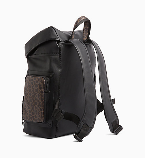 CALVINKLEIN Flap Backpack - BLACK - CALVIN KLEIN LOGO SHOP - detail image 1