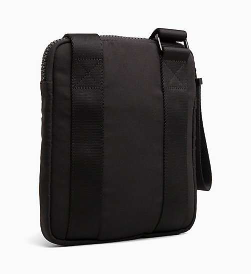 CALVINKLEIN Flat Cross Body Bag - BLACK - CALVIN KLEIN ALL GIFTS - detail image 1