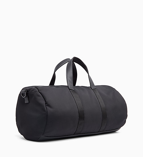 CALVIN KLEIN Cylinder Duffle Bag - BLACK - CALVIN KLEIN IN THE THICK OF IT FOR HIM - detail image 1