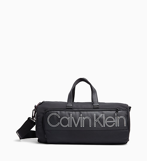 CALVIN KLEIN Cylinder Duffle Bag - BLACK - CALVIN KLEIN IN THE THICK OF IT FOR HIM - main image