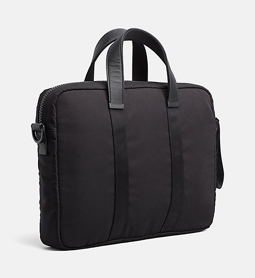 CALVINKLEIN Medium Laptop Bag - BLACK - CALVIN KLEIN LAPTOP BAGS - detail image 1