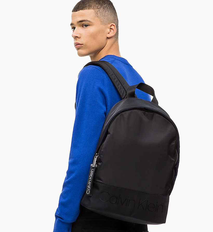 CALVIN KLEIN Round Backpack - NIGHT SCAPE - CALVIN KLEIN MEN - detail image 3