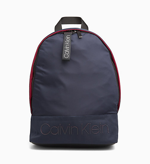 CALVINKLEIN Round Backpack - NIGHTSCAPE - CALVIN KLEIN The New Off-Duty - main image