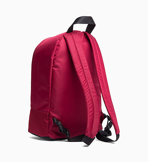 CALVINKLEIN Round Backpack - RED ROCK - CALVIN KLEIN The New Off-Duty - detail image 1