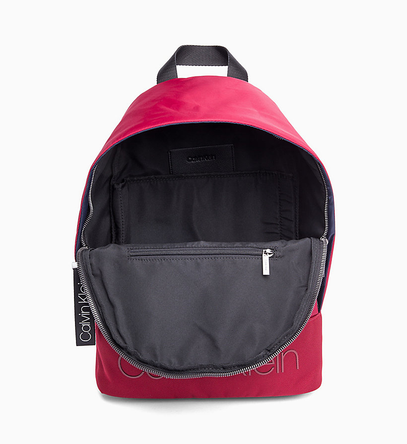 CALVIN KLEIN Round Backpack - BLACK - CALVIN KLEIN MEN - detail image 2