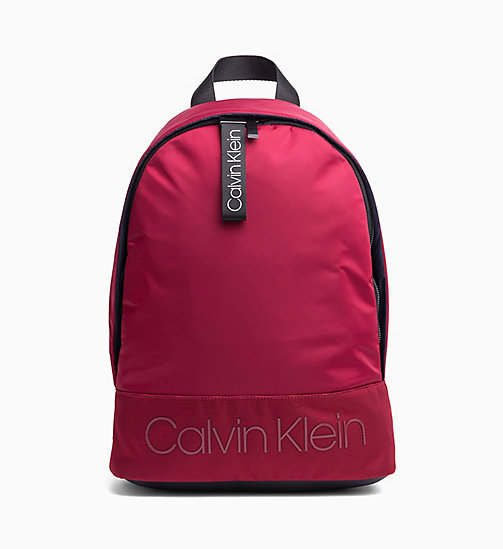 CALVINKLEIN Round Backpack - RED ROCK - CALVIN KLEIN The New Off-Duty - main image