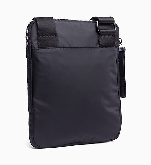 CALVINKLEIN Flat Cross Body Bag - BLACK - CALVIN KLEIN The New Off-Duty - detail image 1