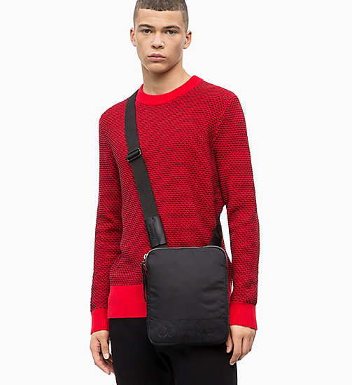 CALVIN KLEIN Flache Crossover-Bag - BLACK - CALVIN KLEIN The New Off-Duty - main image 1