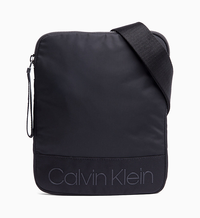 CALVIN KLEIN Flat Cross Body Bag - NIGHT SCAPE - CALVIN KLEIN MEN - main image