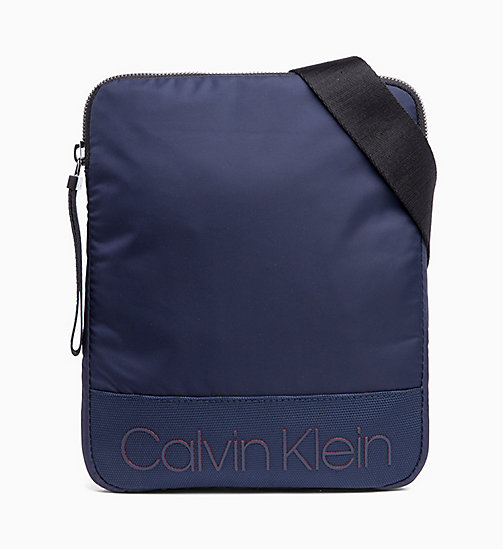 CALVIN KLEIN Flat Cross Body Bag - NIGHT SCAPE - CALVIN KLEIN BAGS - main image