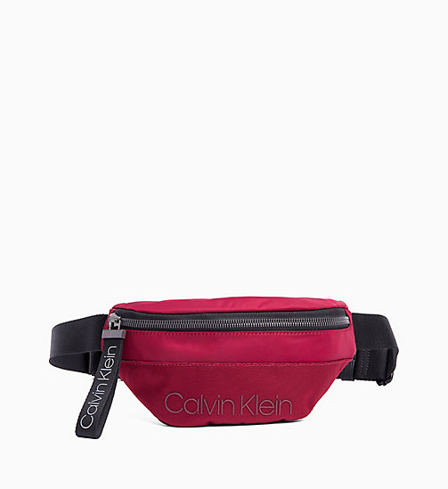 CALVIN KLEIN Bum Bag - RED ROCK - CALVIN KLEIN BUM BAGS - main image