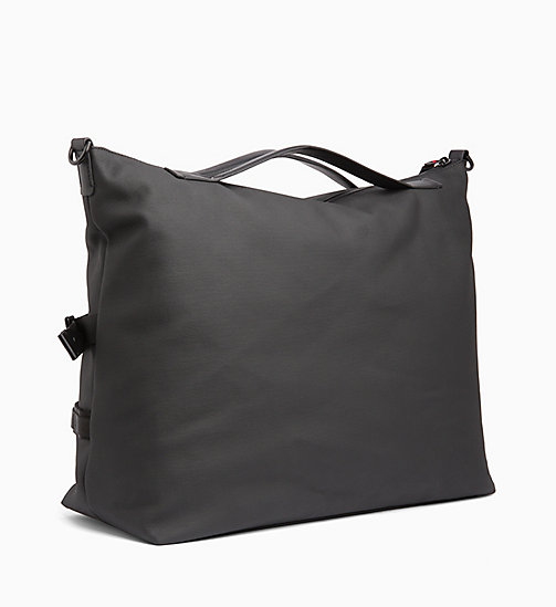 CALVINKLEIN Large Tote Bag - BLACK /ROUGE - CALVIN KLEIN WEEKEND BAGS - detail image 1