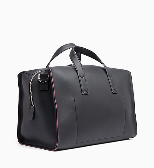 CALVINKLEIN Medium Duffle Bag - BLACK/ NAVY/ ROSE QUARTZ -  BAGS - detail image 1