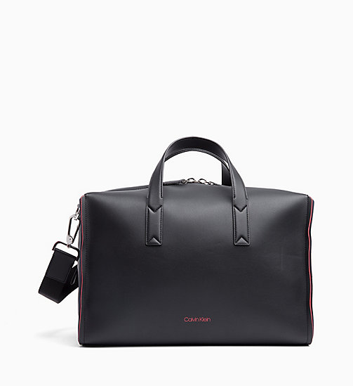 CALVINKLEIN Medium Duffle Bag - BLACK/ NAVY/ ROSE QUARTZ -  BAGS - main image
