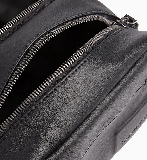 CALVIN KLEIN Wash Bag - BLACK - CALVIN KLEIN WALLETS & SMALL ACCESSORIES - detail image 1