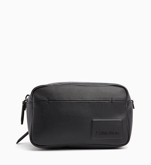 CALVIN KLEIN Wash Bag - BLACK - CALVIN KLEIN WALLETS & SMALL ACCESSORIES - main image