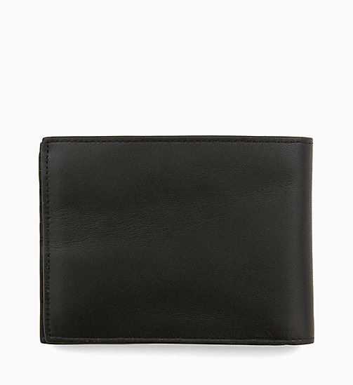 CALVINKLEIN Leather Wallet - BLACK - CALVIN KLEIN WALLETS & SMALL ACCESSORIES - detail image 1