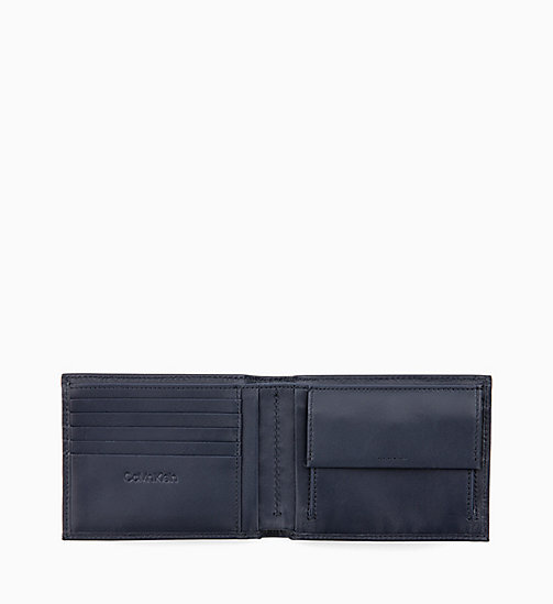 CALVIN KLEIN Leather Wallet - NIGHTSCAPE - CALVIN KLEIN WALLETS & SMALL ACCESSORIES - detail image 1