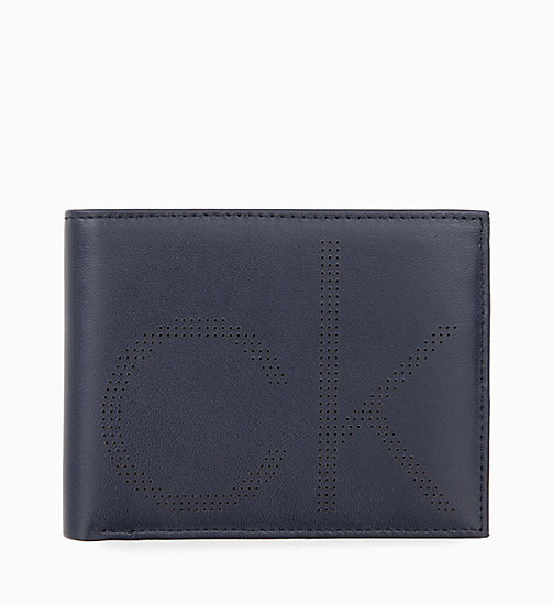 CALVINKLEIN Leather Wallet - NIGHTSCAPE - CALVIN KLEIN WALLETS & SMALL ACCESSORIES - main image