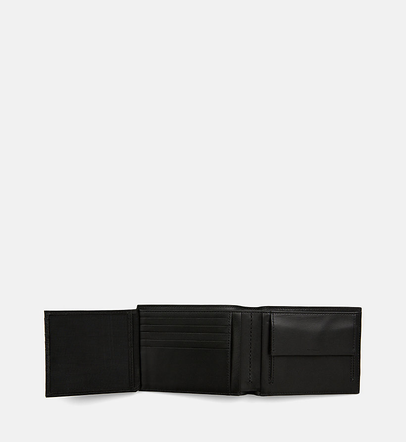 CALVINKLEIN Leather Wallet - NIGHTSCAPE - CALVIN KLEIN MEN - detail image 3