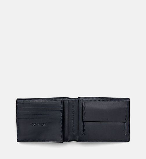 CALVIN KLEIN Leather Wallet - NIGHT SCAPE - CALVIN KLEIN MEN - detail image 1