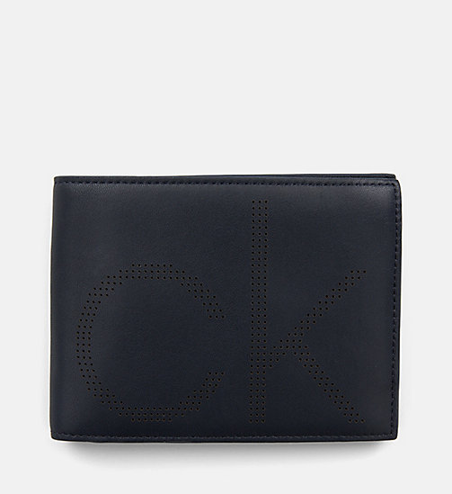 CALVIN KLEIN Leather Wallet - NIGHT SCAPE - CALVIN KLEIN MEN - main image