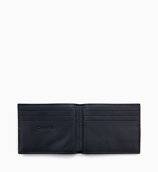 CALVIN KLEIN Leather Wallet - NIGHTSCAPE - CALVIN KLEIN MEN - detail image 1