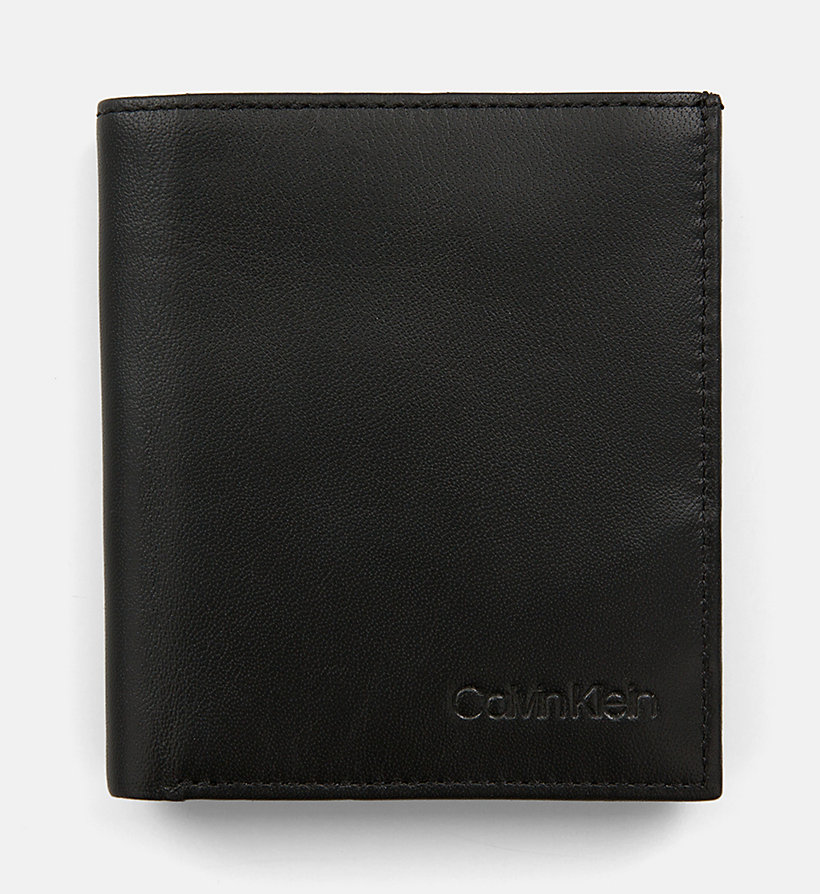 CALVINKLEIN Leather Wallet - NIGHTSCAPE - CALVIN KLEIN MEN - main image