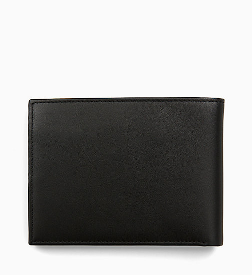 CALVINKLEIN Leather Wallet - BLACK - CALVIN KLEIN ALL GIFTS - detail image 1