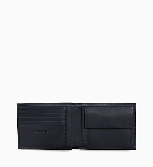 CALVIN KLEIN Leather Wallet - NIGHT SCAPE - CALVIN KLEIN WALLETS & SMALL ACCESSORIES - detail image 1