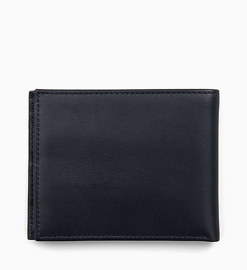 CALVINKLEIN Leather Slimfold Wallet - NIGHTSCAPE - CALVIN KLEIN WALLETS & SMALL ACCESSORIES - detail image 1