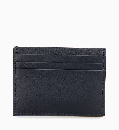 CALVINKLEIN Leather Cardholder - NIGHTSCAPE - CALVIN KLEIN WALLETS & SMALL ACCESSORIES - detail image 1