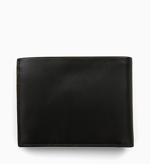 CALVINKLEIN Leather Wallet - BLACK -  MEN - detail image 1