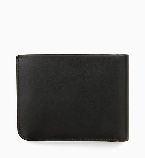 CALVINKLEIN Leather Wallet - BLACK/ NAVY/ ROSE QUARTZ - CALVIN KLEIN MEN - detail image 1