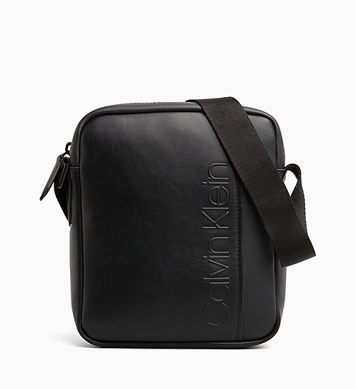 CALVIN KLEIN Reporter Bag - BLACK - CALVIN KLEIN ALL GIFTS - main image