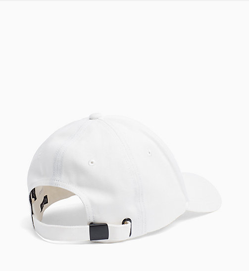 CALVINKLEIN Logo Cap - OFF WHITE - CALVIN KLEIN SHOES & ACCESSORIES - detail image 1
