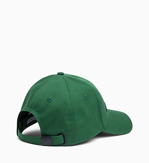 CALVIN KLEIN Logo Cap - GRASS GREEN - CALVIN KLEIN ALL GIFTS - detail image 1