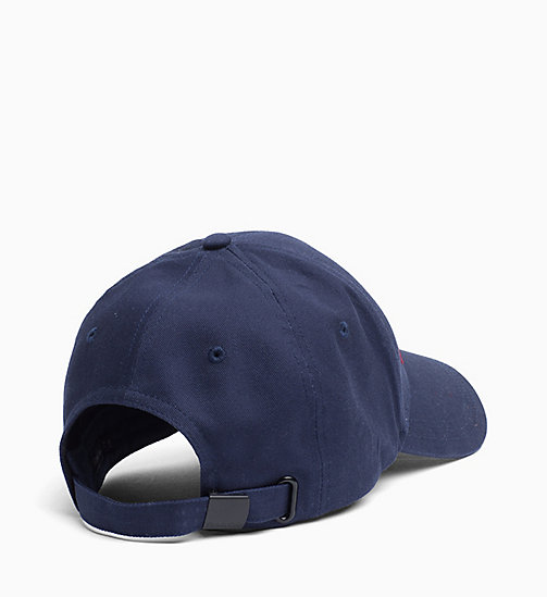 CALVIN KLEIN Logo Cap - DARK NAVY -  MEN - detail image 1