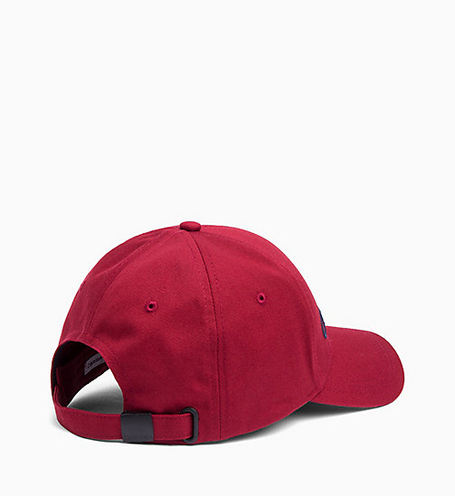 CALVIN KLEIN Logo Cap - RED ROCK -  ALL GIFTS - detail image 1