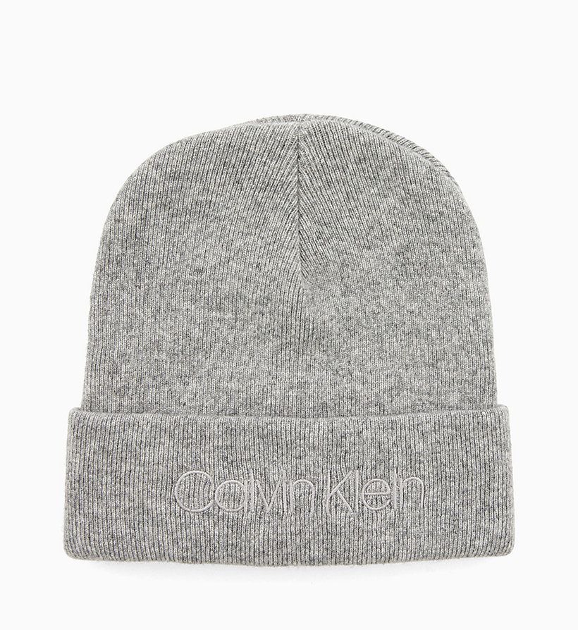 CALVINKLEIN Wool Blend Beanie - DARK NAVY - CALVIN KLEIN MEN - main image