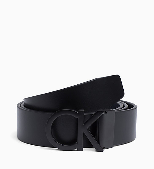 CALVINKLEIN Leather Belt Gift Box - BLACK - CALVIN KLEIN BELTS - main image