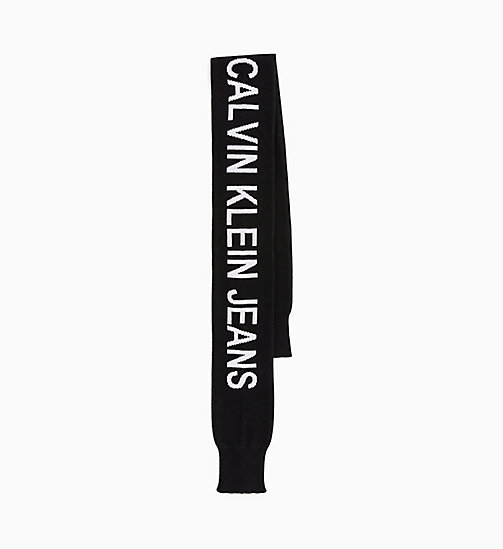 CALVIN KLEIN JEANS Cuff Scarf - BLACK BEAUTY - CALVIN KLEIN JEANS BOLD GRAPHICS - main image