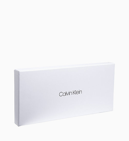 CALVINKLEIN Leather Gloves Gift Box - BLACK - CALVIN KLEIN GLOVES - detail image 1