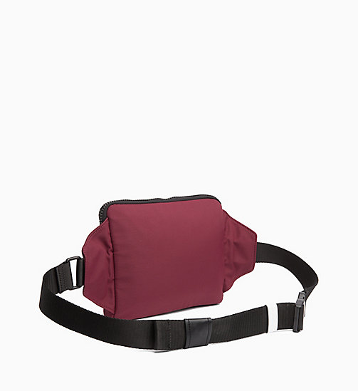 CALVINKLEIN iPad Bum Bag - OXBLOOD -  CROSSOVER BAGS - detail image 1