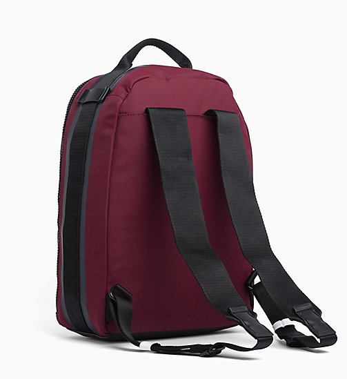 CALVINKLEIN Round Backpack - OXBLOOD - CALVIN KLEIN BACKPACKS - detail image 1