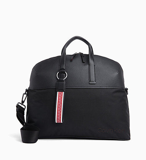 CALVIN KLEIN Weekend Bag - BLACK - CALVIN KLEIN BAGS - main image