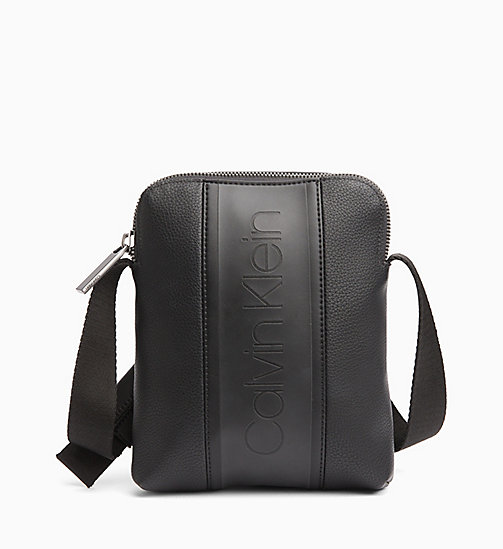 CALVIN KLEIN Mini Reporter Bag - BLACK - CALVIN KLEIN NEW IN - main image