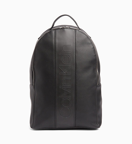CALVINKLEIN Round Backpack - BLACK - CALVIN KLEIN BACKPACKS - main image